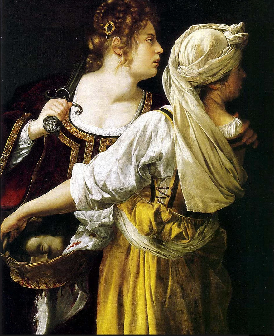 Judith and Her Maidservant (Gentilleschi, 1614)