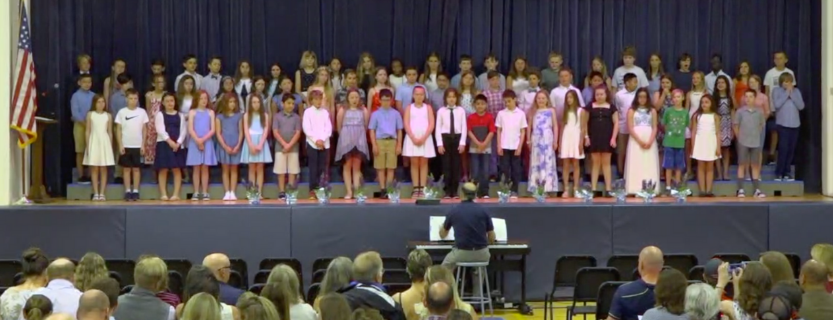 "Congratulations to all fifth graders on ""Moving Up"" to middle school!"