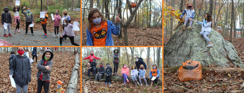 Students love the Fall Scavenger Hunt on the Nature Trail! Thank you, KES PTO!