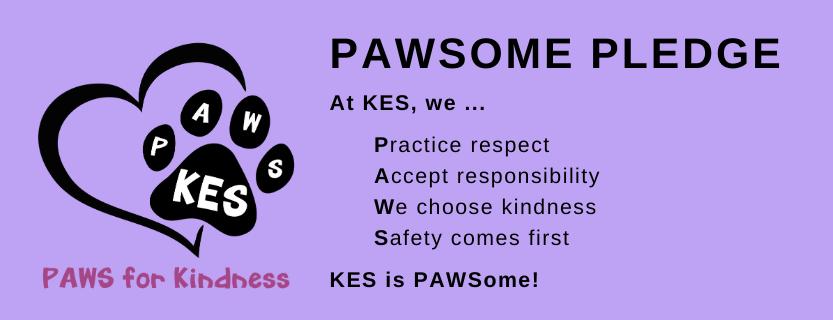 pawsome pledge