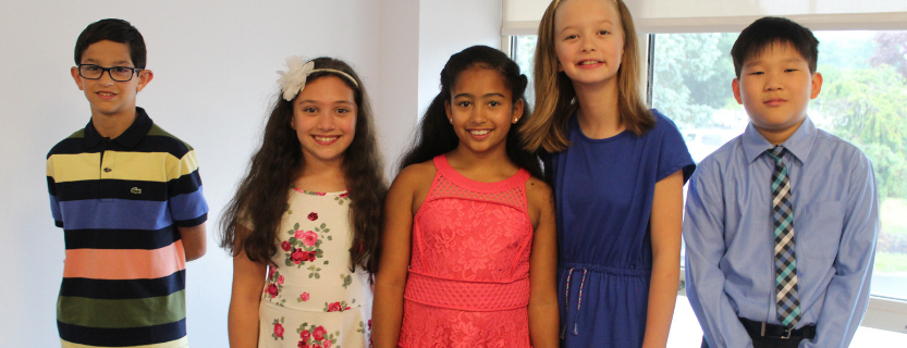 Congratulations to all fifth graders on Moving Up!