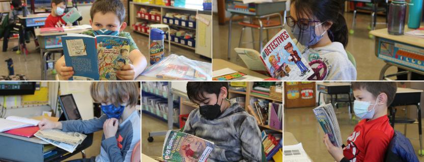 Third graders love mysteries!