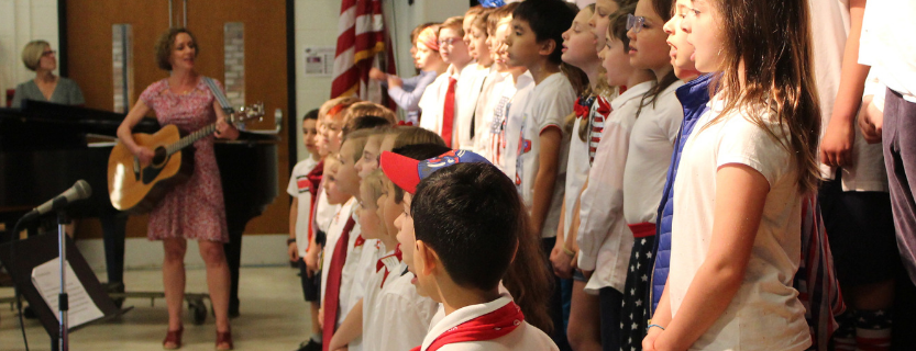 Salute to the States by MPES second grade