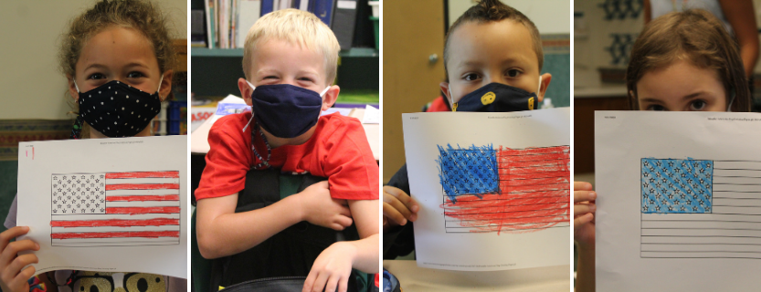 First graders celebrate Constitution Day! l