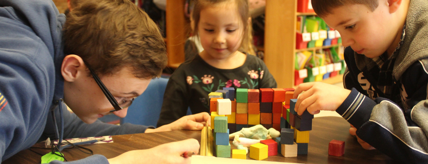 The Dog House Project encourages kindergarteners to be inventors, creators, designers, problem-solvers, and collaborators!