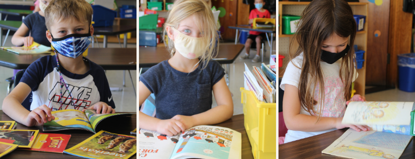 Students have time to read each day.