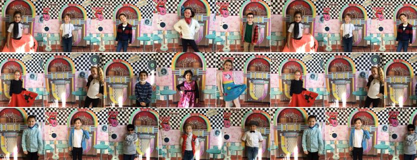 first grade celebrates 50 day.