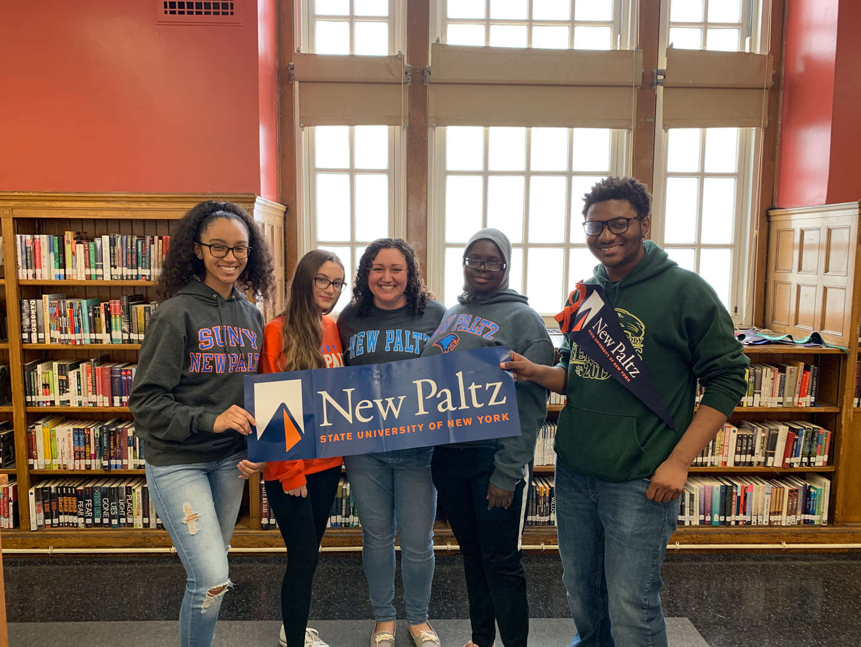 New Paltz Admits