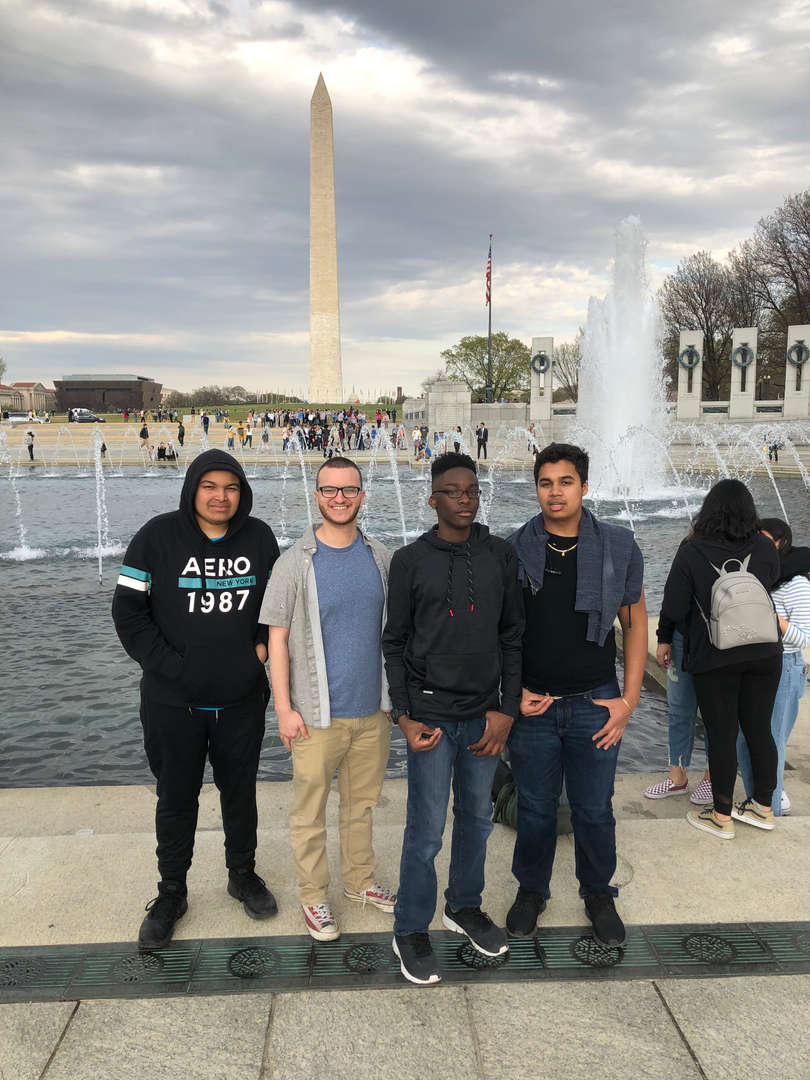 Juniors trip to Washing D.C.