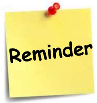 Reminder for Senior Dues