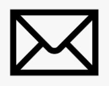 Mail icon used as a hyperlink with staff email address.