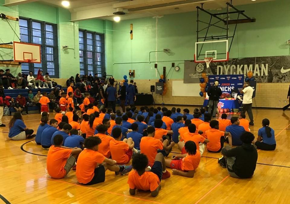 Junior Knicks Students