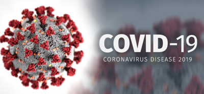 Hyperlink image to Coronavirus information