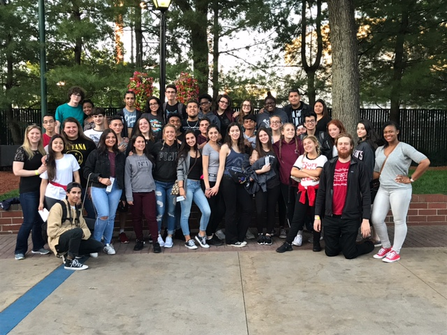 group at 6 flags