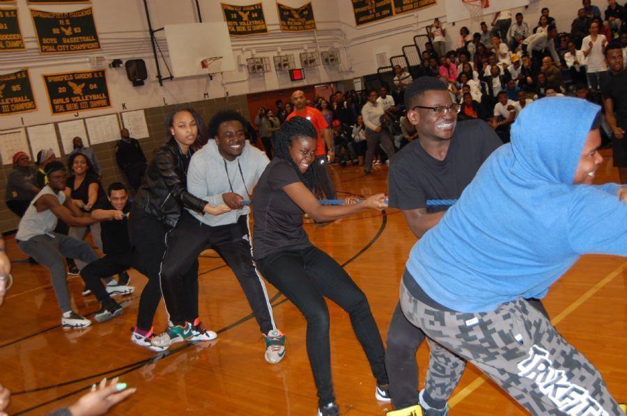 Our Annual Battle of The Grades - Tug of War Event