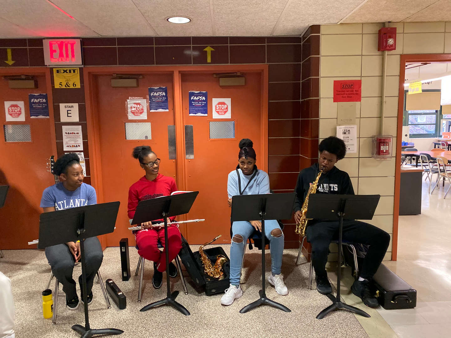 Our Musicians Playing
