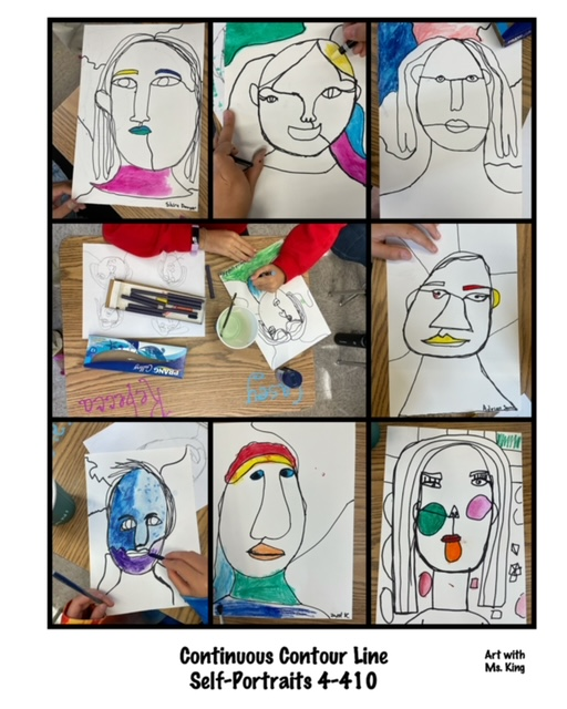 student self portraits