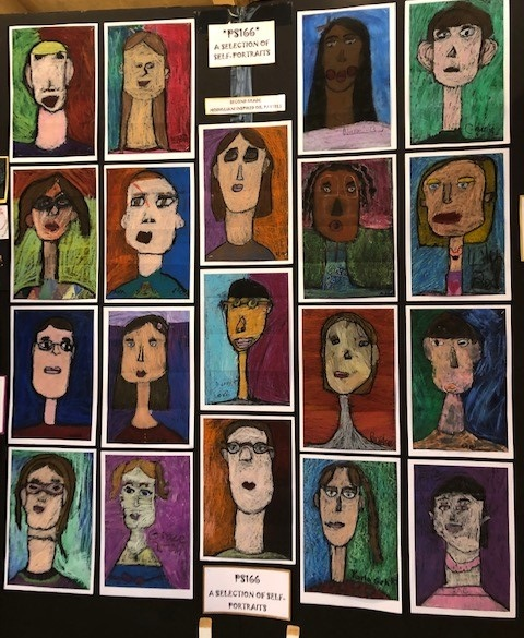 Fourth Grade Self Portraits