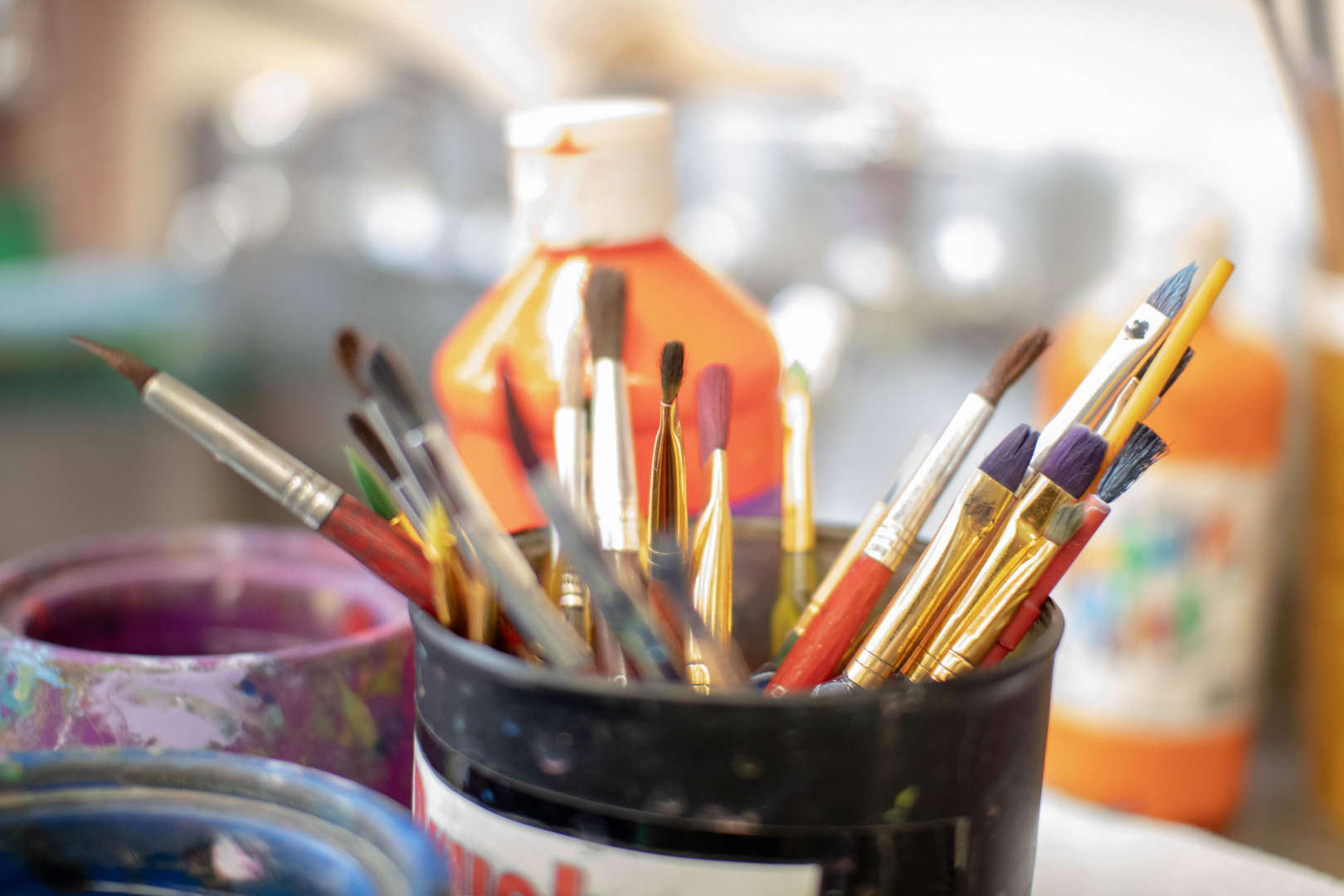 Art Supplies - Paintbrushes