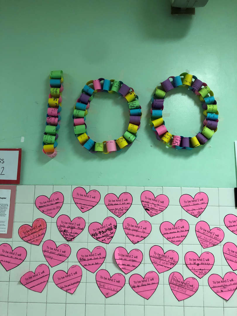 100 day kindness chain