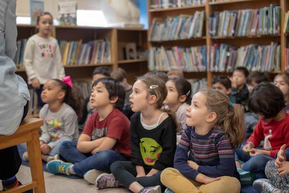 Children listening to a Readaloud