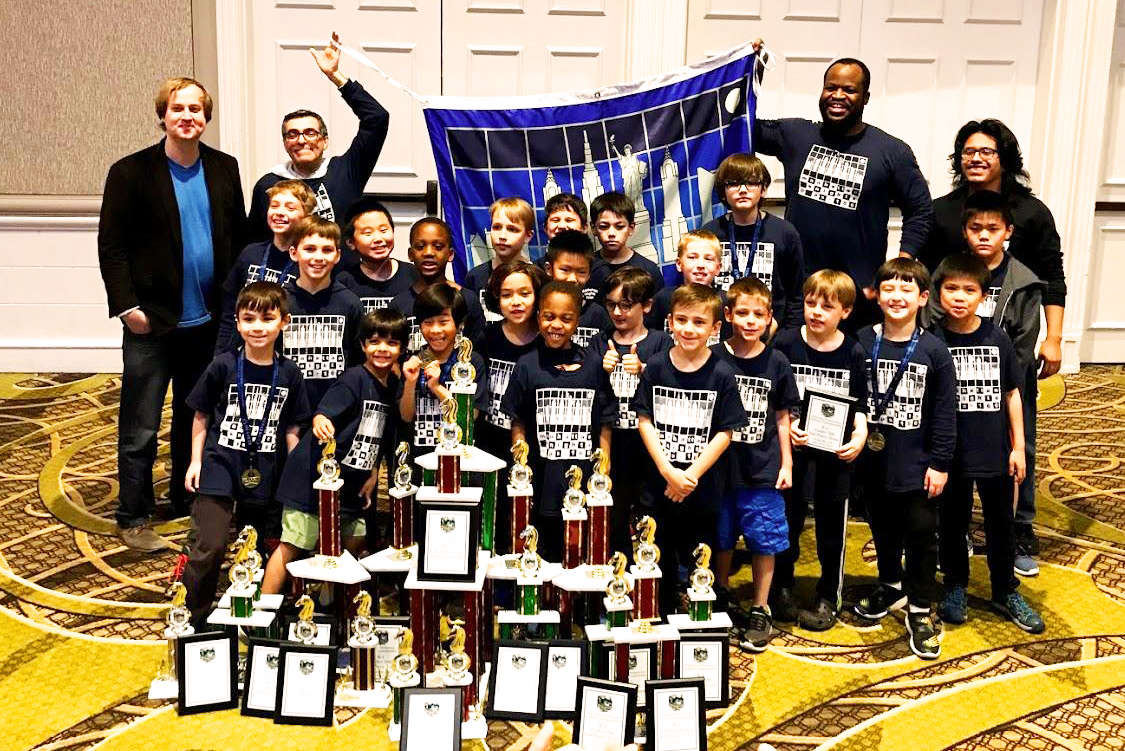 2109 Manhattan Knights Chess Team at Nationals Tournament