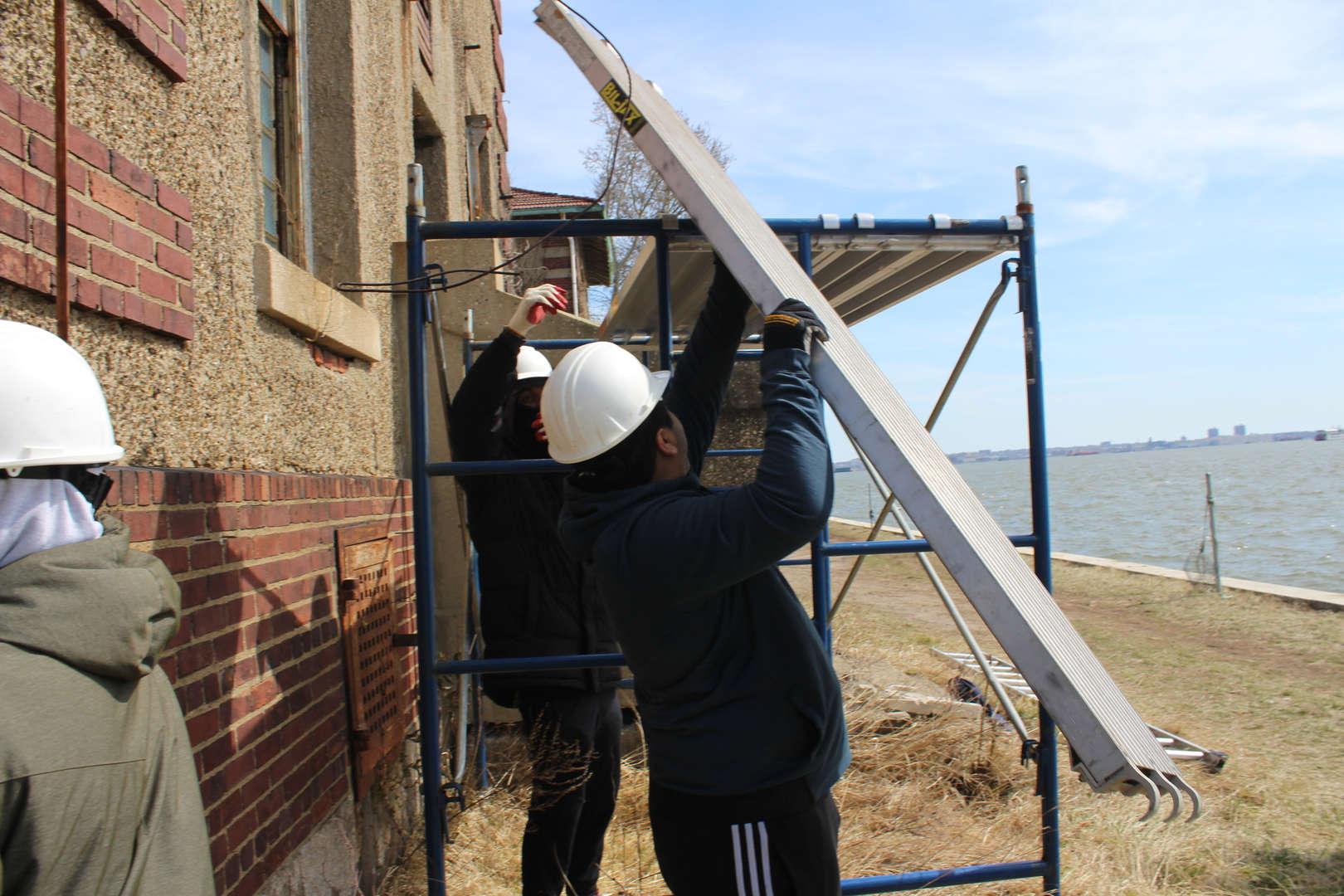 Ellis Island Restoration Work Trip