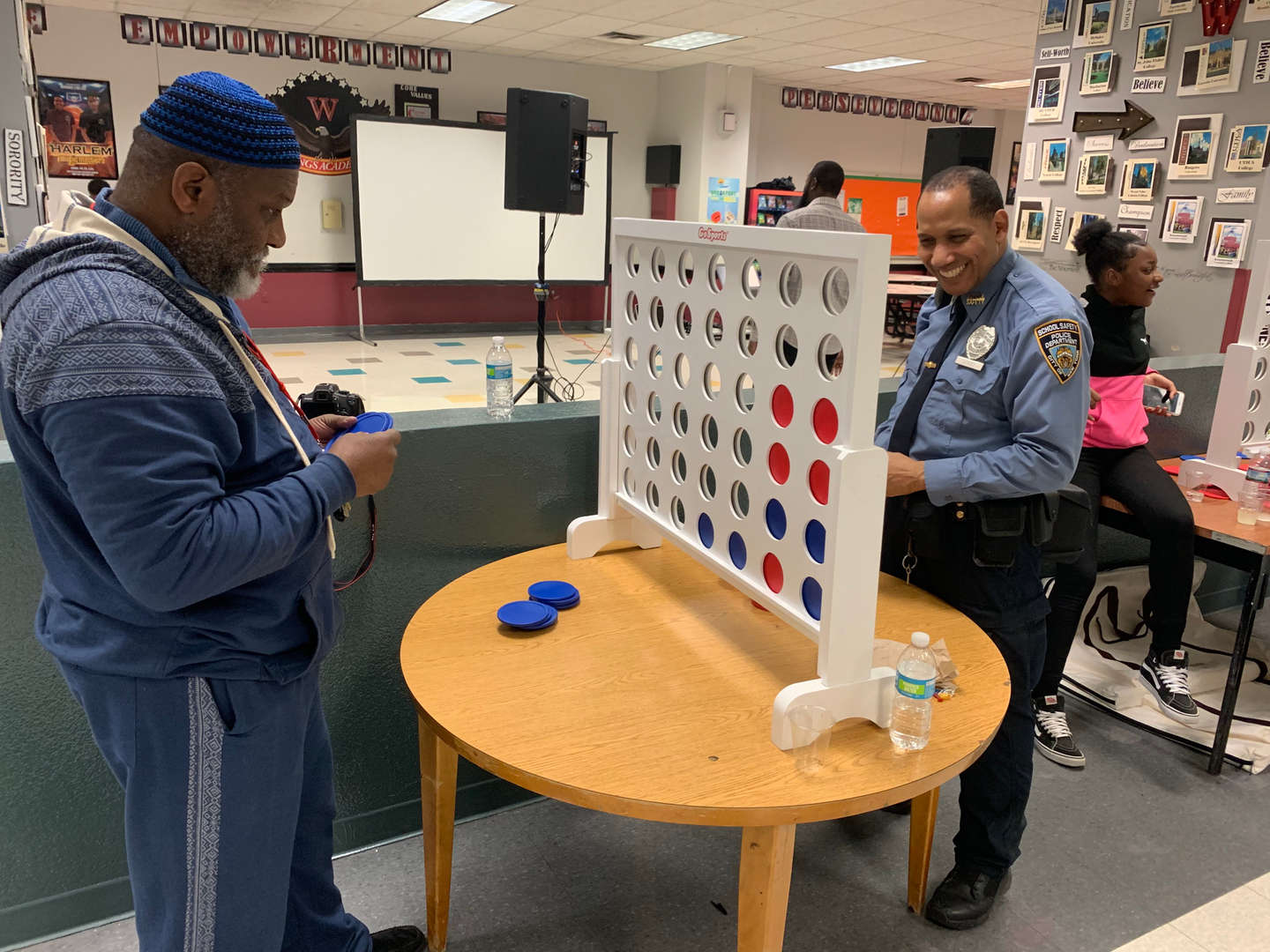 Game Night March 29th 2019 featuring Science teacher Mr. Wood and SSA Good.