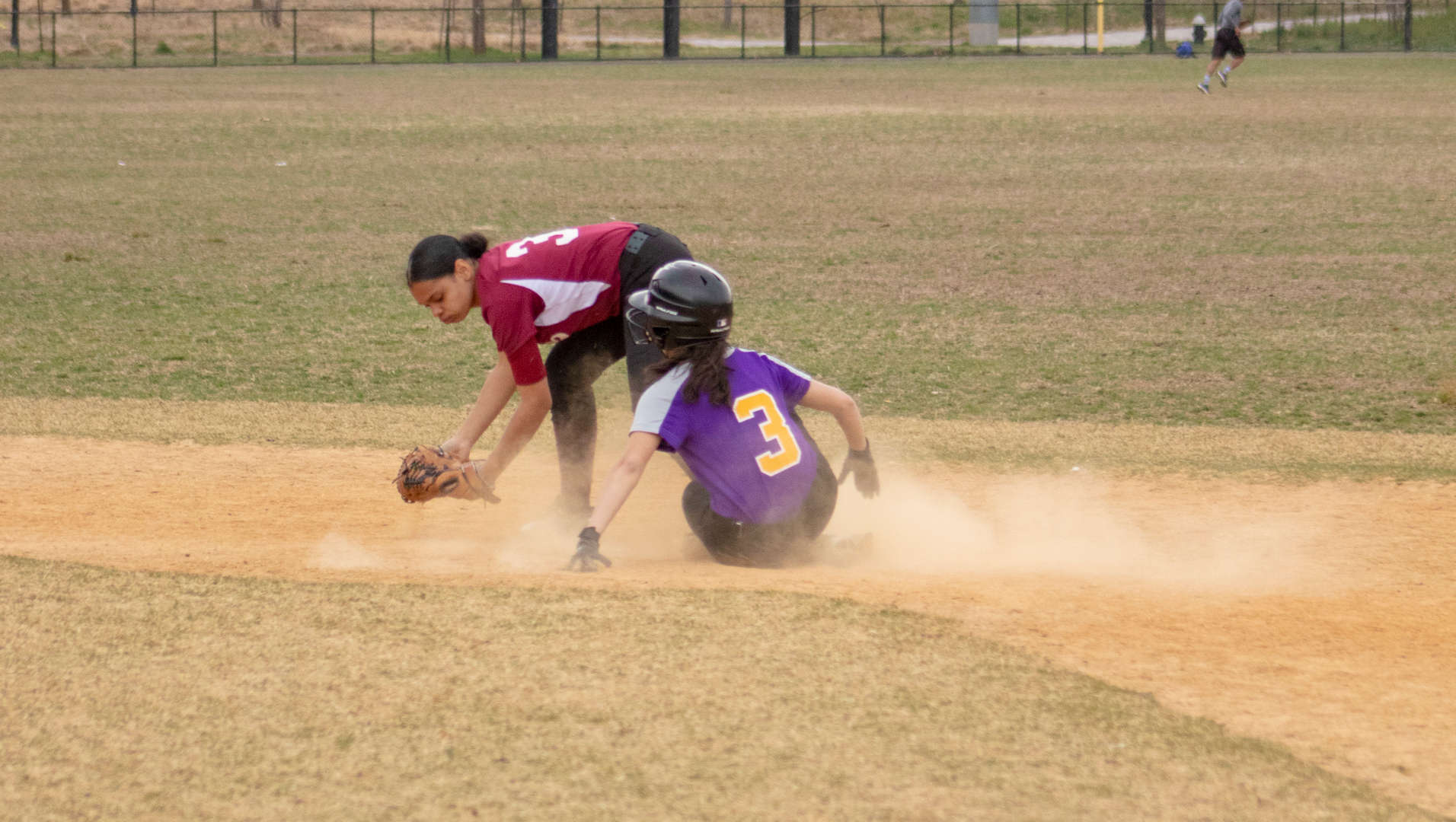 Student made it to second base