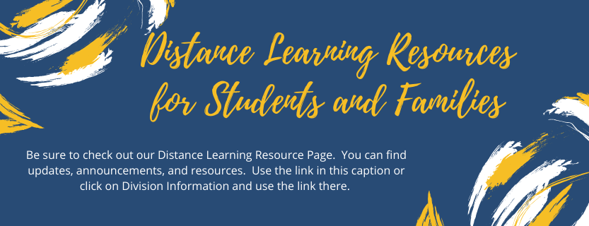 Distance Learning Resources Page