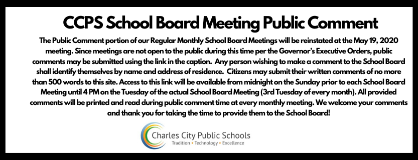 School Board Public Comment