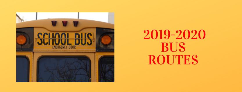 2019-2010 Bus Routes