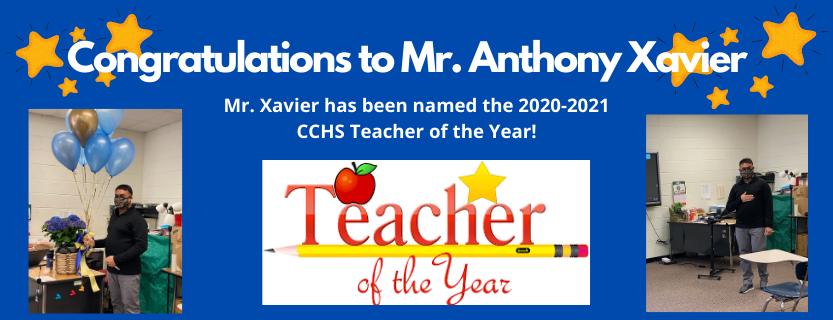 CCHS Teacher of the Year