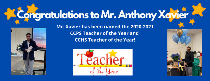CCPS Teacher of the Year