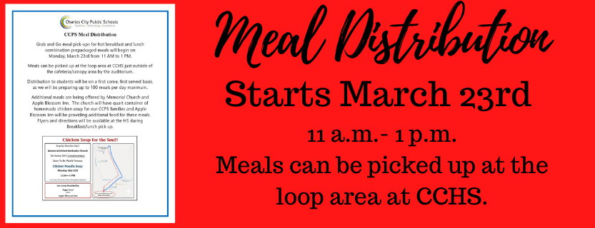 Meal Distribution starts March 23