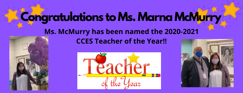 CCES Teacher of the Year