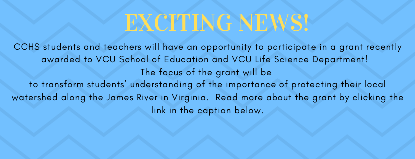 NOAA Grant Opportunity for CCHS