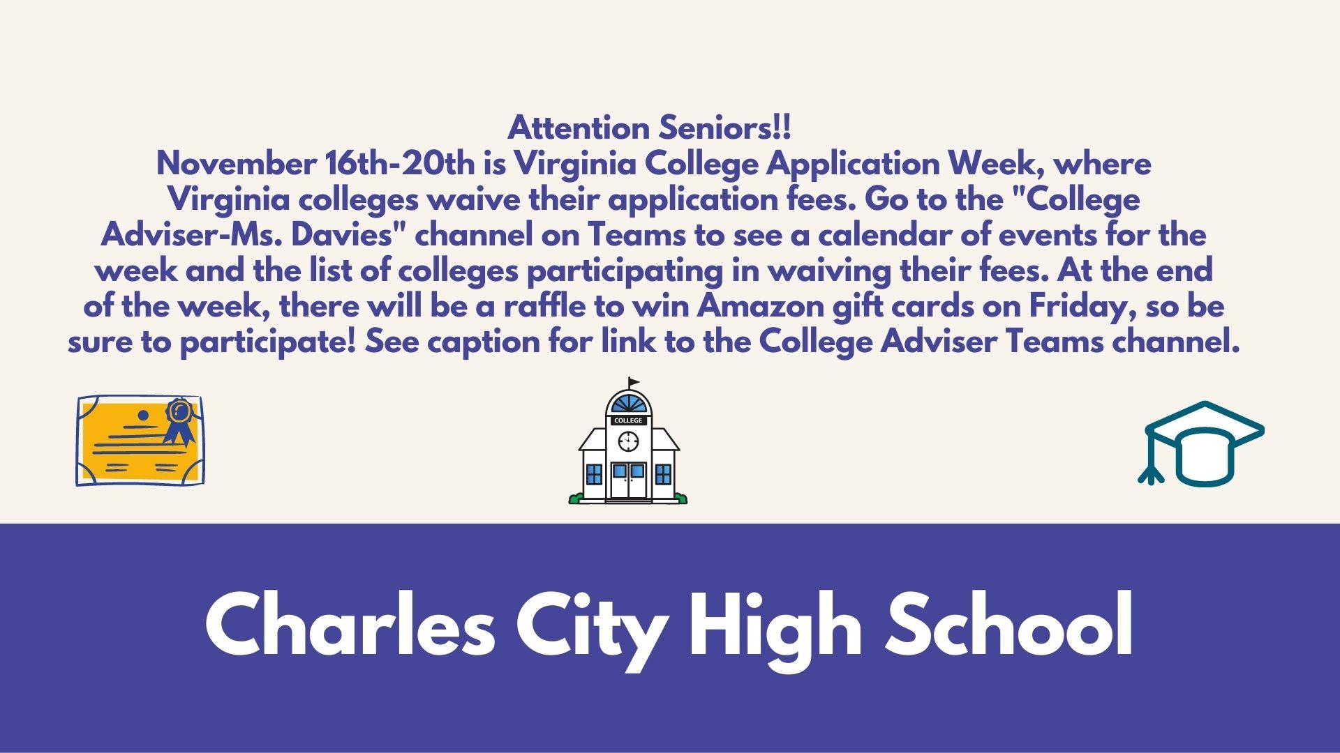 VA College Application Week
