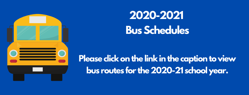 2020-21 Bus Schedules