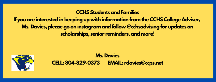 Message from Ms. Davies