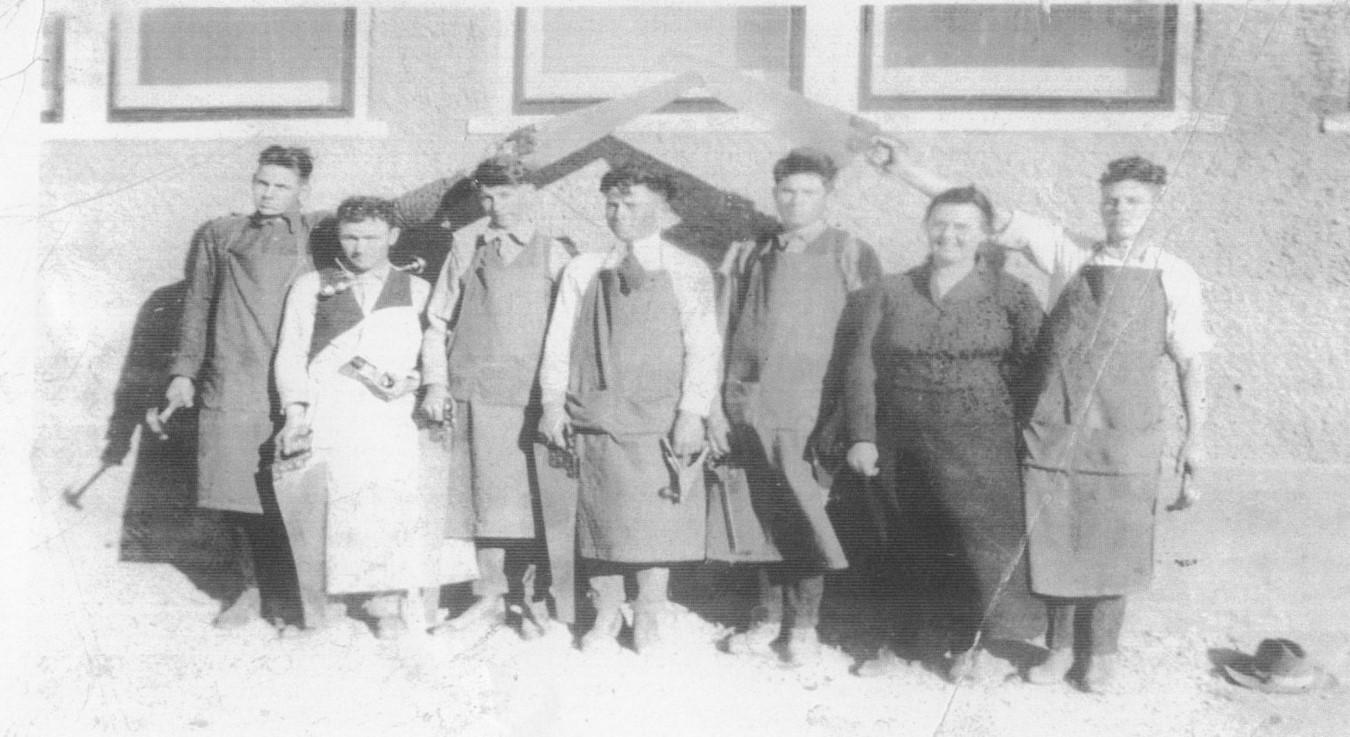1925-1926 Tatum Work Shop Class