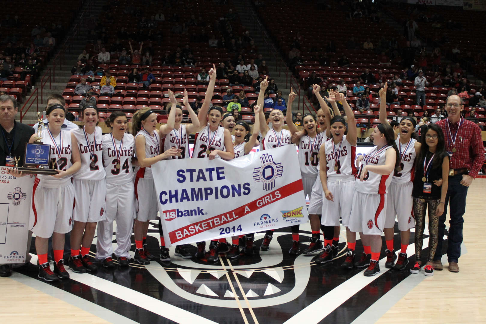 2014 State Champs - Girls Basketball