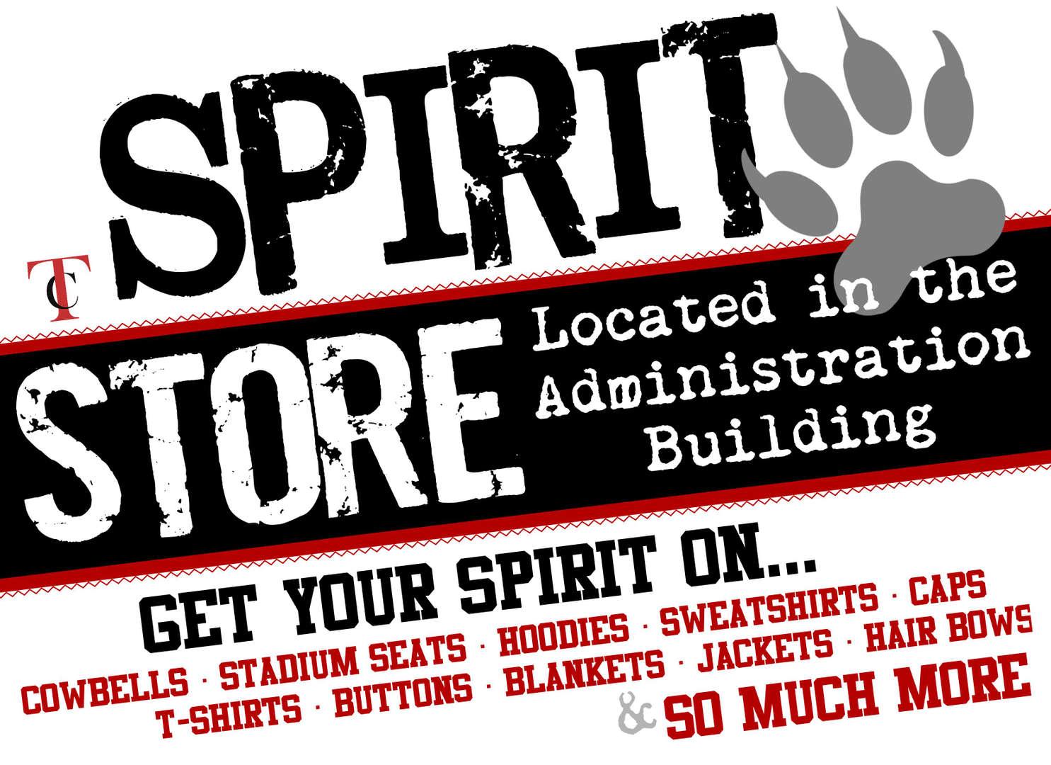Spirit Store graphic