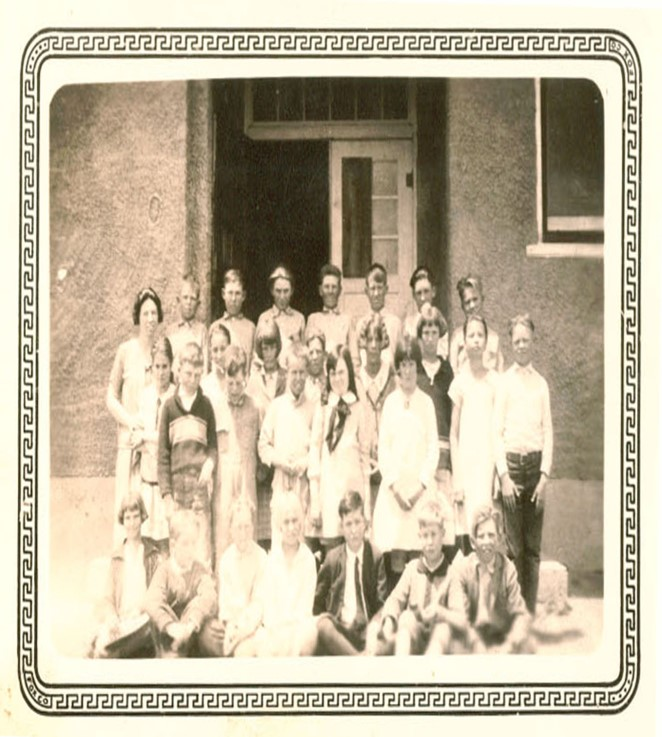 1925-26 5th & 6th Grade Class, Teacher Miss Blauch  - If you can identify  anyone please let us know!