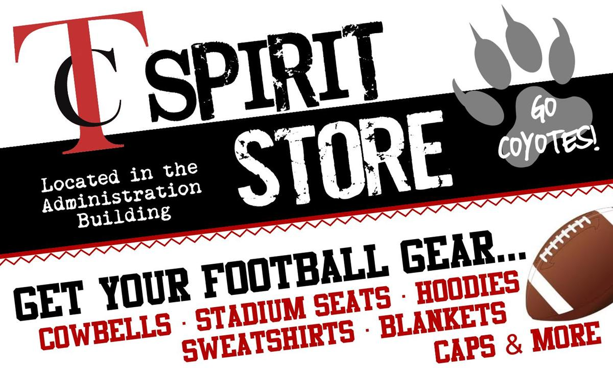 Tatum Spirit Store get your football gear hear