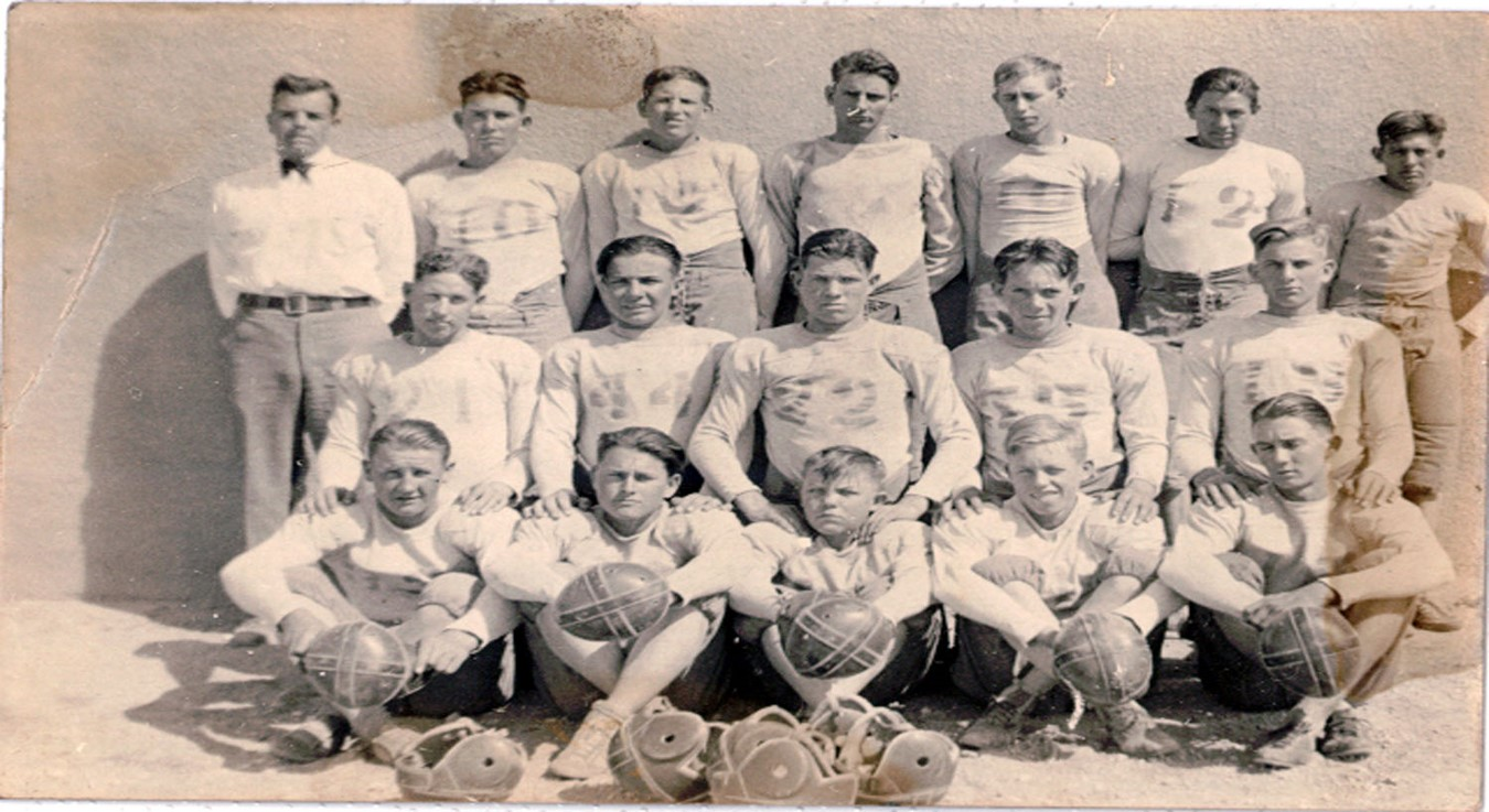 1925-1926 Tatum Football Team