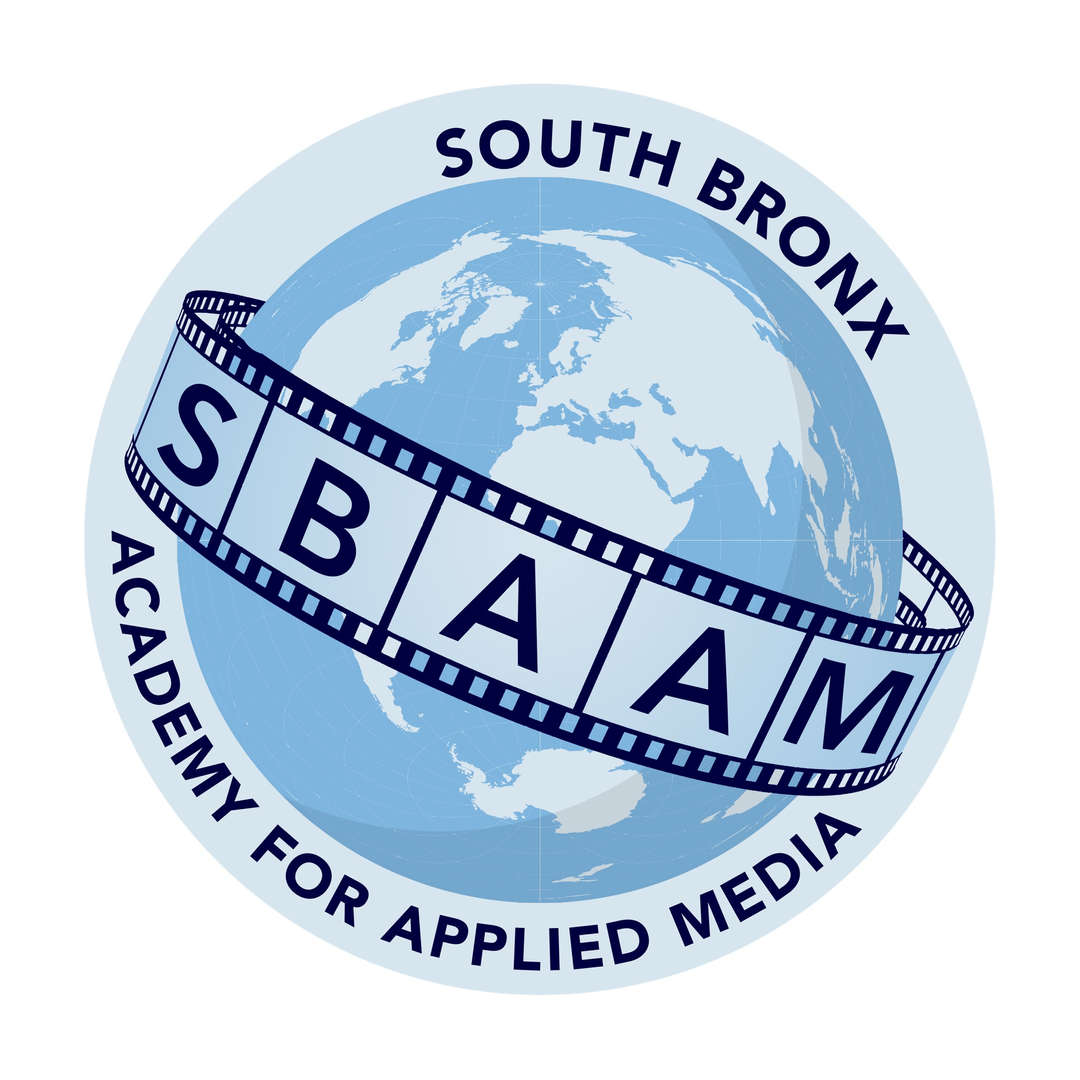 MS 296, South Bronx Academy for Applied Media logo