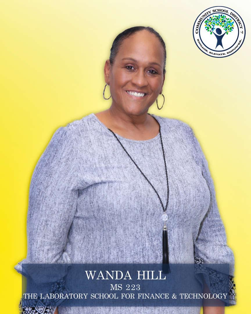 Wanda Hill, Parent Coordinator