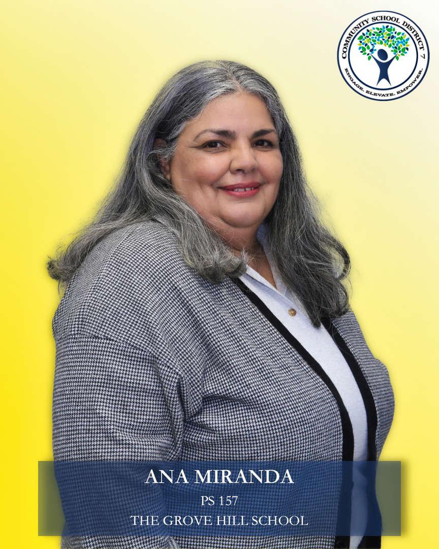 Ana Miranda, Parent Coordinator