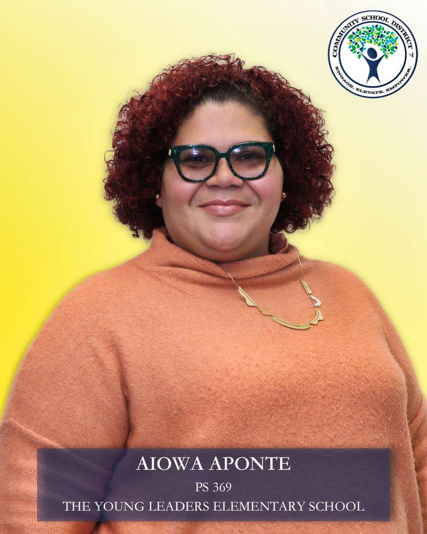 Aiowa Aponte, Parent Coordinator